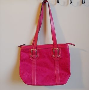 Croft & Barrow Fushia Handbag